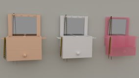 Render of Basic Jewelry Box version 2