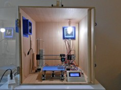 3D Printer Enclosure by Sandra James