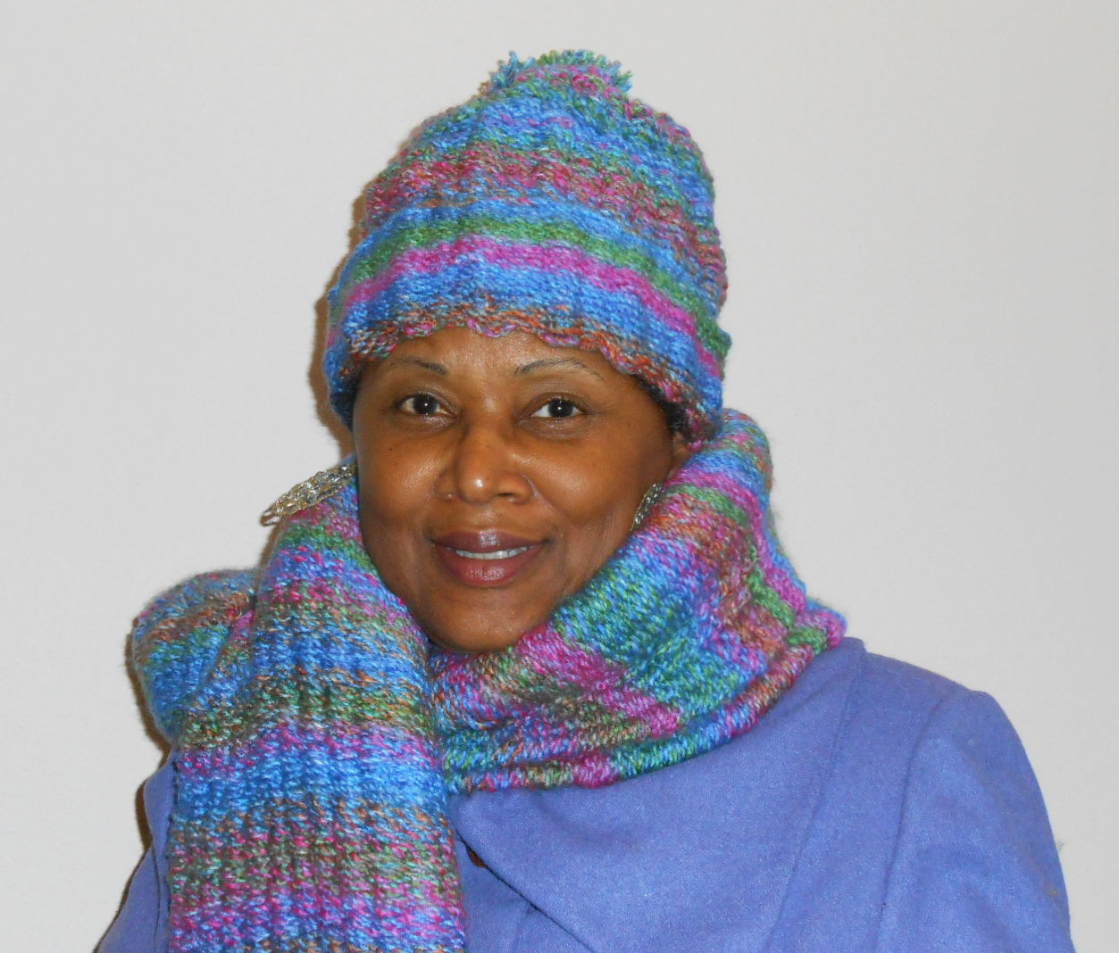 Peg Loom Woven Hat & Scarf