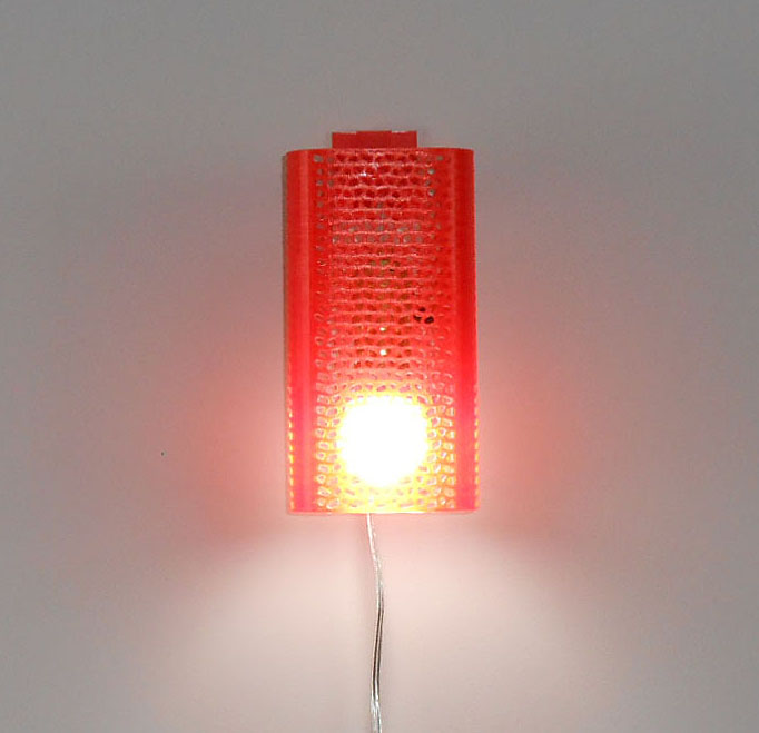 3D printed Sconce