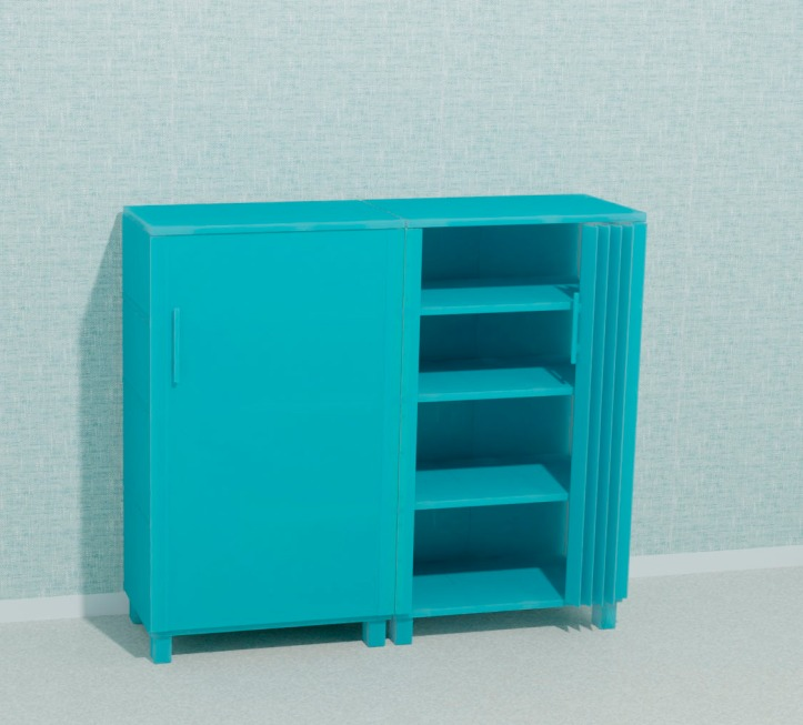 3D printed cabinet