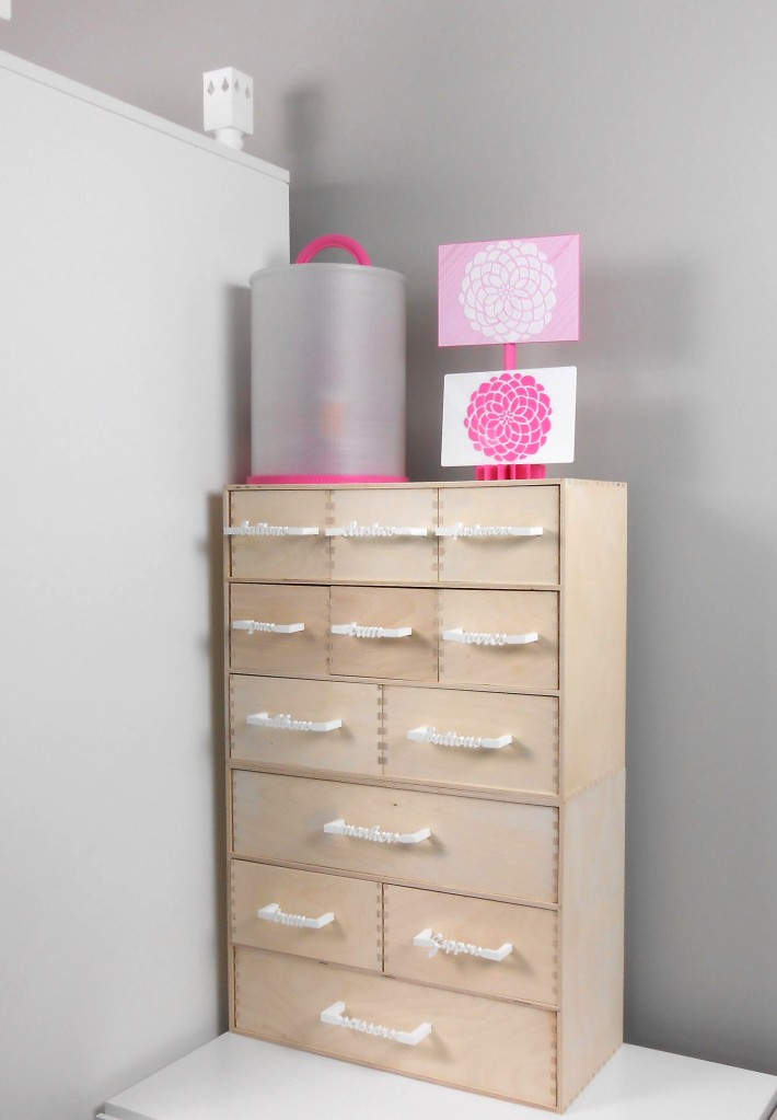 Moppe hack - sewing drawers